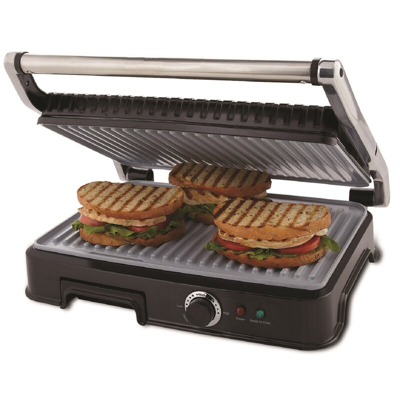 Kitchenaid Panini Press oster extra large duraceramic panini maker and indoor grill
