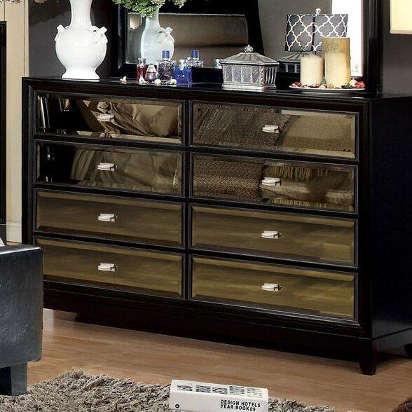 Willa Arlo Interiors Guerrero 6 Drawer Double Dresser