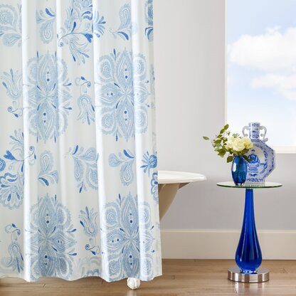 Emma Cotton Shower Curtain