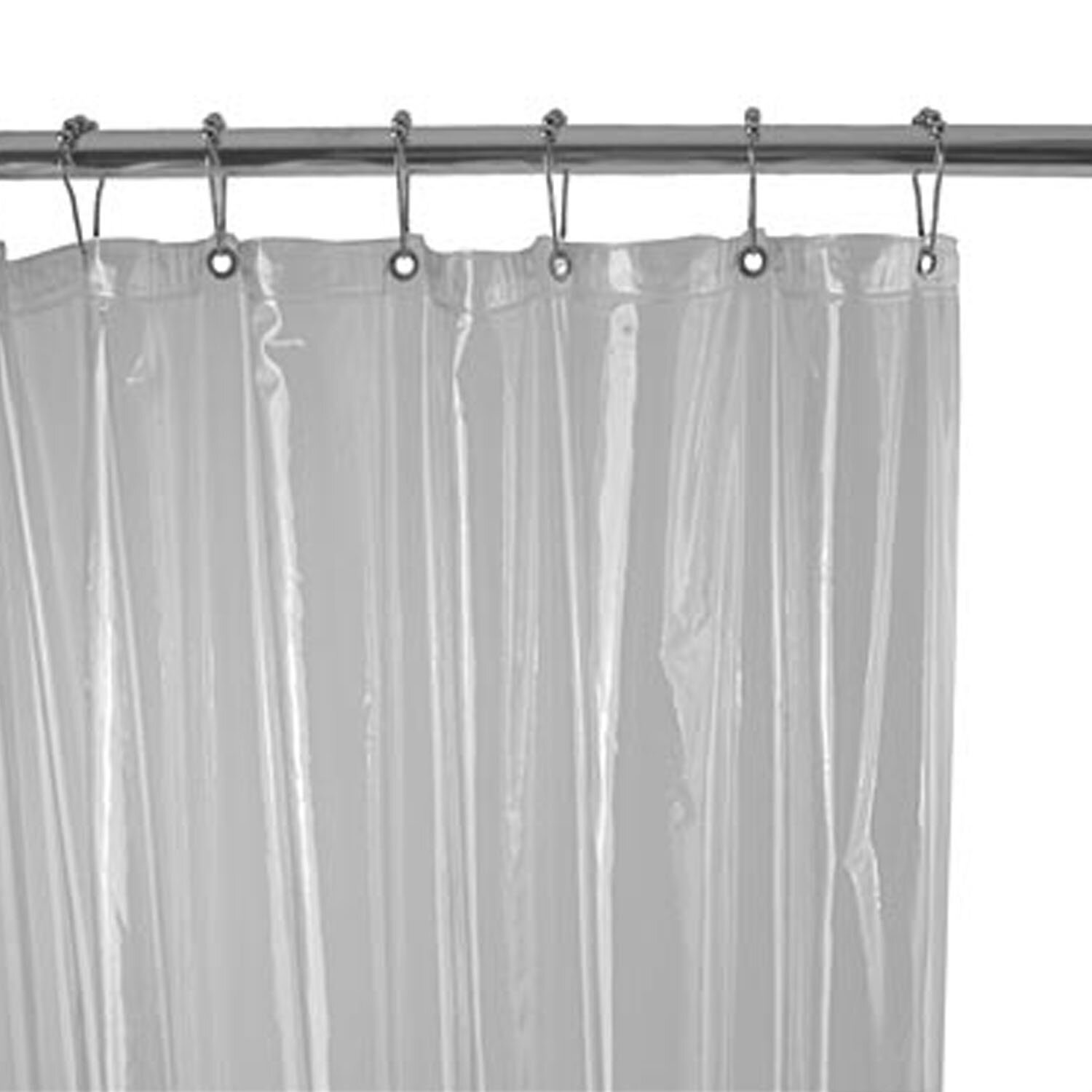 Zenith Vinyl Shower Curtain & Reviews | Wayfair