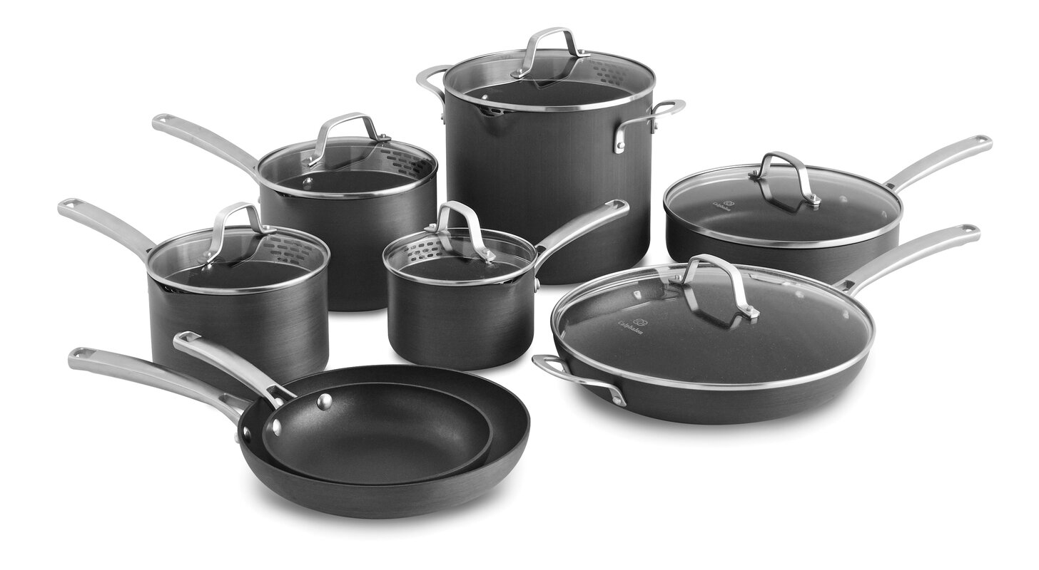 Calphalon Classic 14 Piece Non-Stick Cookware Set & Reviews | Wayfair