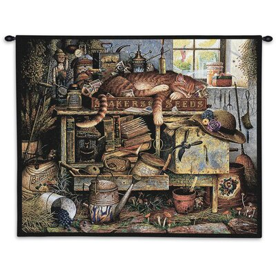 Remington the Horticulturist Wall Tapestry August Grove