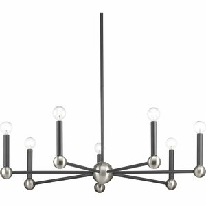 Delatte 7-Light Candle-Style Chandelier