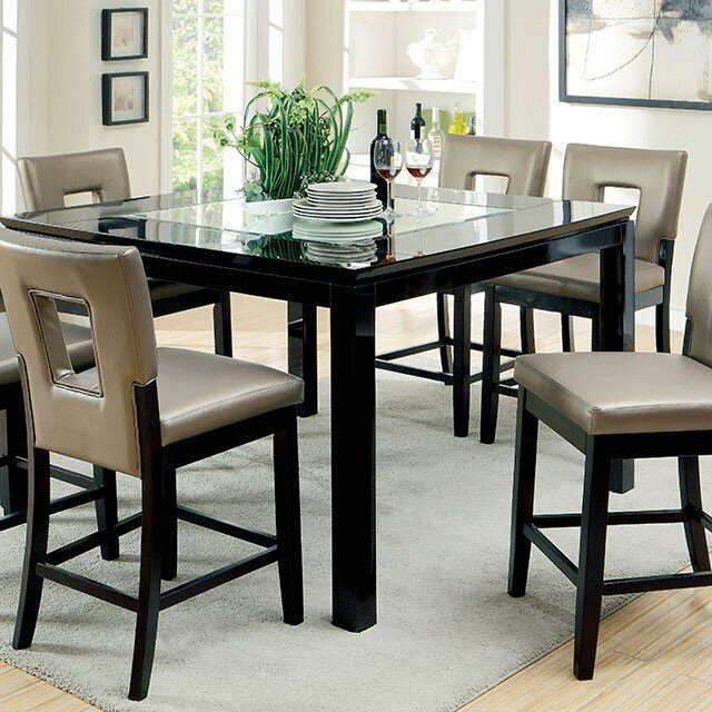 Dard Contemporary Counter Height Dining Table