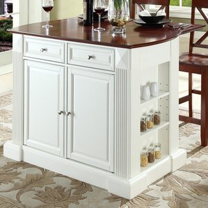 Byron Traditional 3 Piece Kitchen Island ..