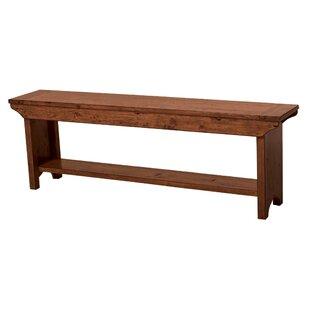 Yorba Linda Long Wood Bench