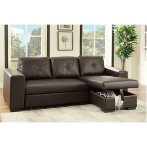 Leona Sleeper Sectional  sc 1 st  AllModern : sectional bed - Sectionals, Sofas & Couches