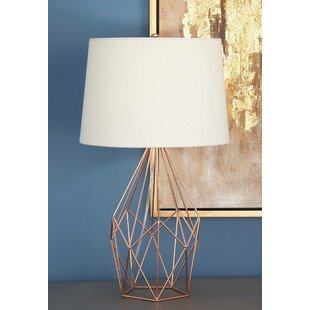 Chicken wire table lamps wayfair metal wire 23 table lamp keyboard keysfo Image collections