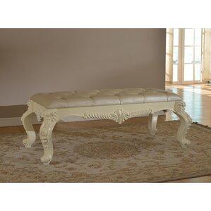 Miller Upholstered Bench by Rosdorf Park