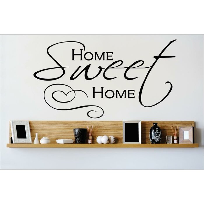 Home Sweet Home Wall Decal Part 52
