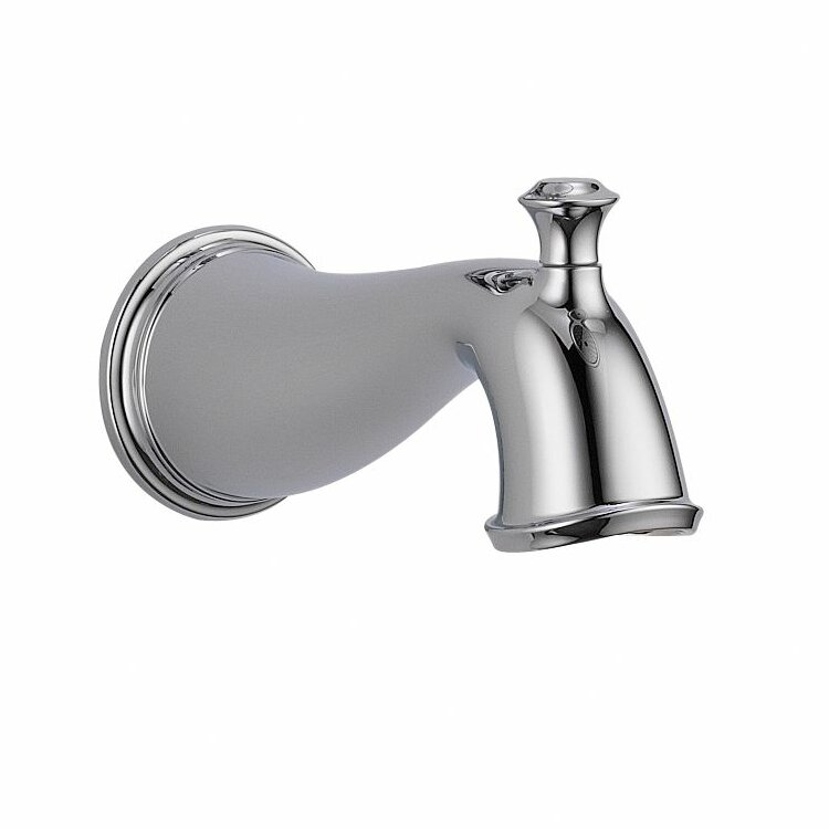 Delta Cassidy Wall Mount Tub Spout with Diverter & Reviews | Wayfair
