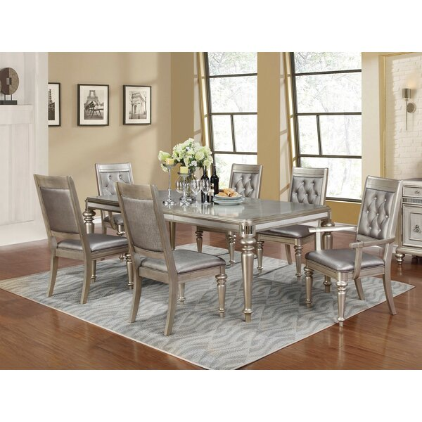 Infini Furnishings Victoria 7 Piece Dining Set Reviews