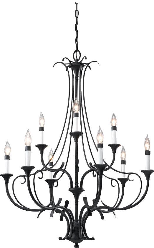 Lark Manor Maiwenn 9 Light Chandelier Reviews
