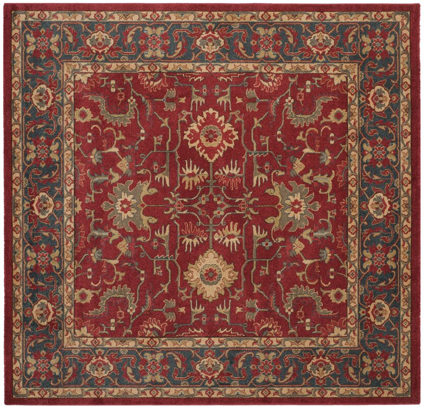 Charlton Home Coleraine Red Area Rug & Reviews