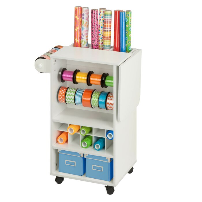 Attractive Rolling Craft Storage Cart