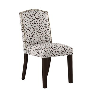 Vernita Nail Button Arched Neo Leo Side Chair