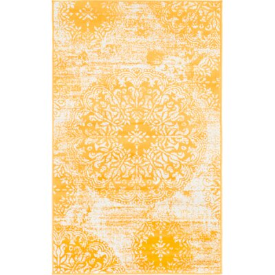3 X 5 Yellow Amp Gold Area Rugs You Ll Love In 2019 Wayfair
