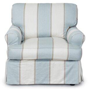 Slip Cover Chair And Ottoman Wayfair