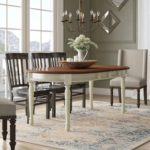 Shelburne Extendable Solid Wood Dining Table 2019 Sale