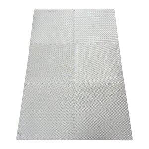 Multipurpose Anti-Fatigue EVA Foam Puzzle Floor Mat (Set of 6)