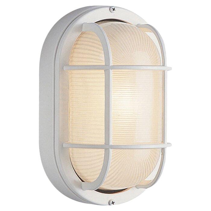 Beachcrest home lia 1 light outdoor bulkhead light reviews lia 1 light outdoor bulkhead light aloadofball Images