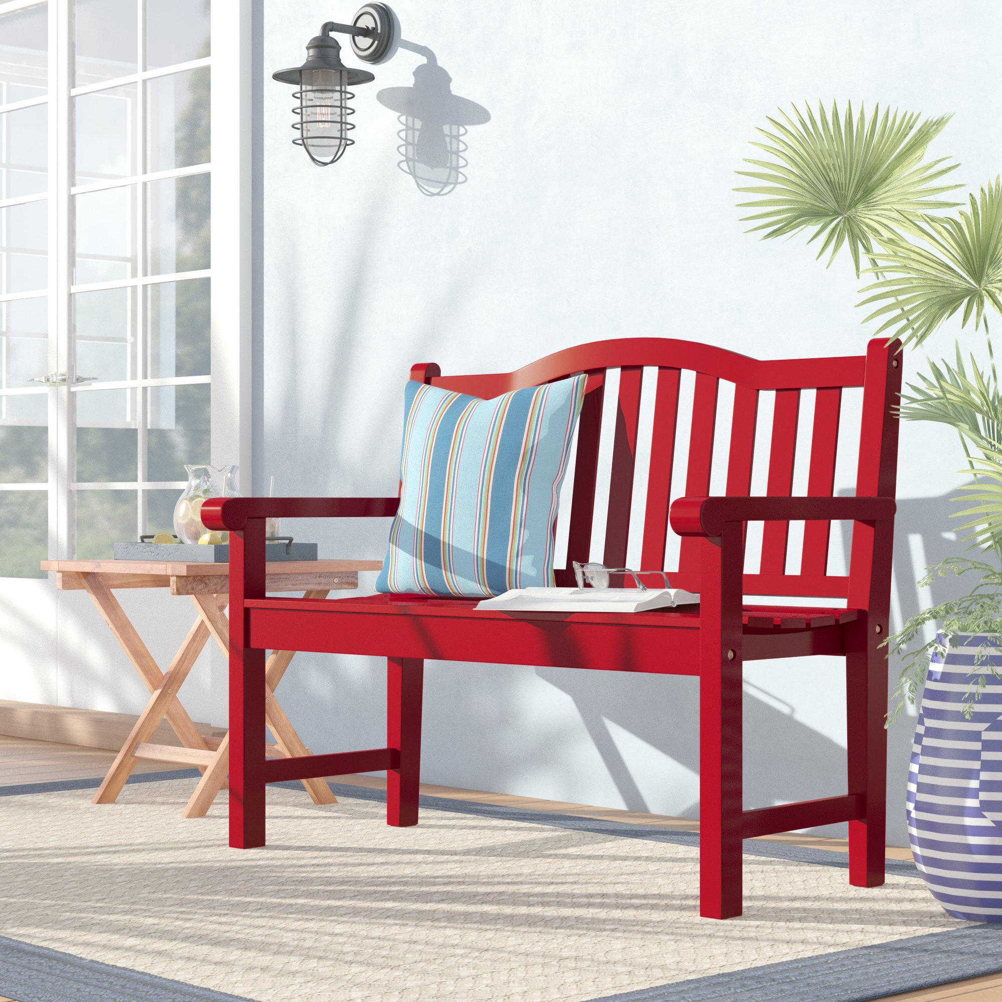 Wood Benches You Ll Love Wayfair Ca