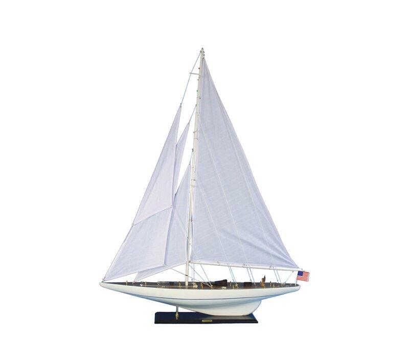 Intrepid Model Yacht