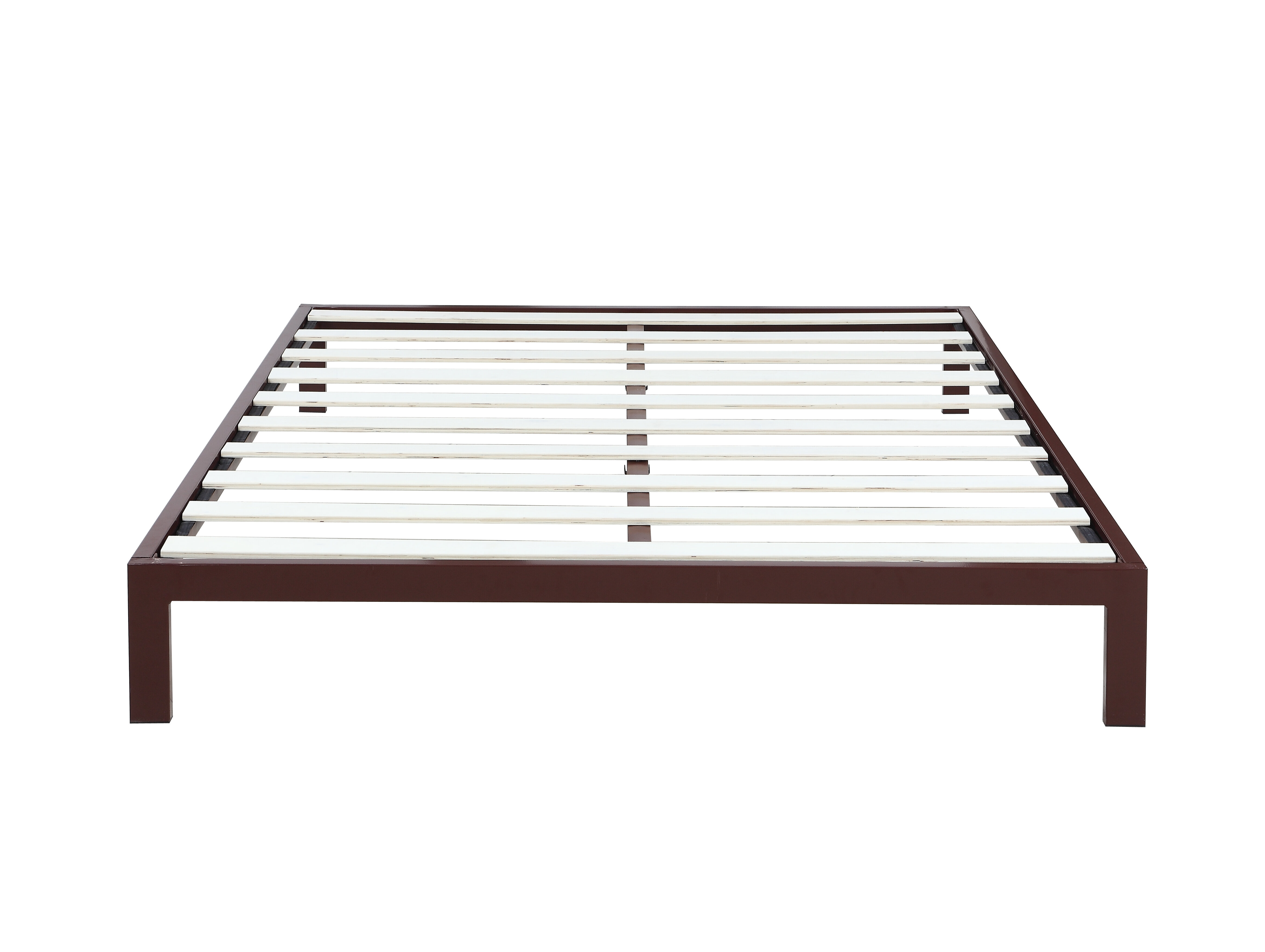 Madison Home USA Modern Metal Platform Bed Frame & Reviews   Wayfair