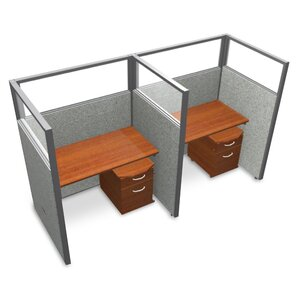 office workstations & cubicles you'll love | wayfair