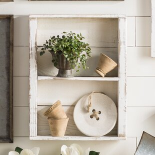 Reclaimed Wood Shelf Floating Wayfair