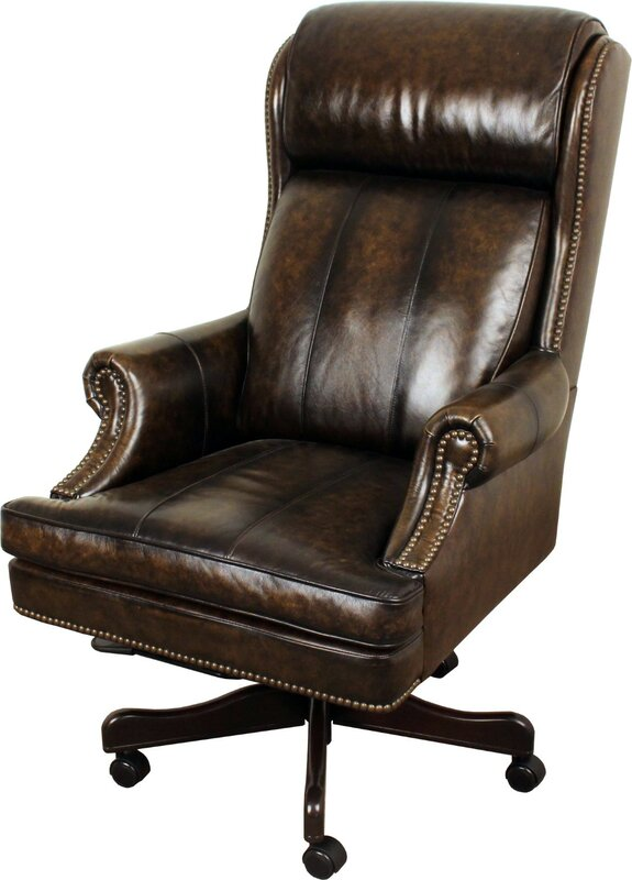 Elegant Corey Leather Executive Chair