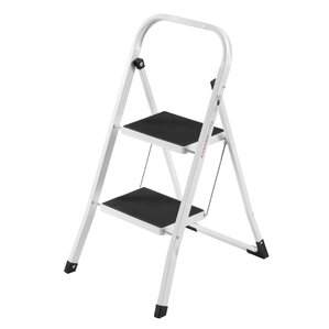 2step steel step stool with 330 lb load capacity