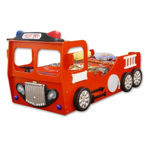 Fire Truck Twin Car Bed by Americas Toys Project