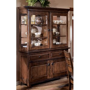 Spencerville Lighted China Cabinet by Three Posts