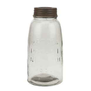 53cfa77da7f Large Mason Storage Jar with Rust Lid