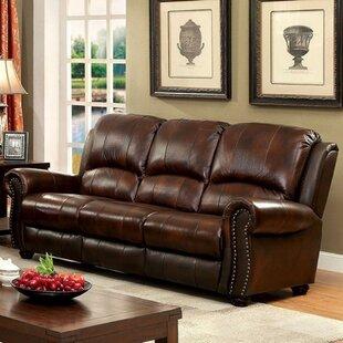 Gantz Top Grain Leather Sofa