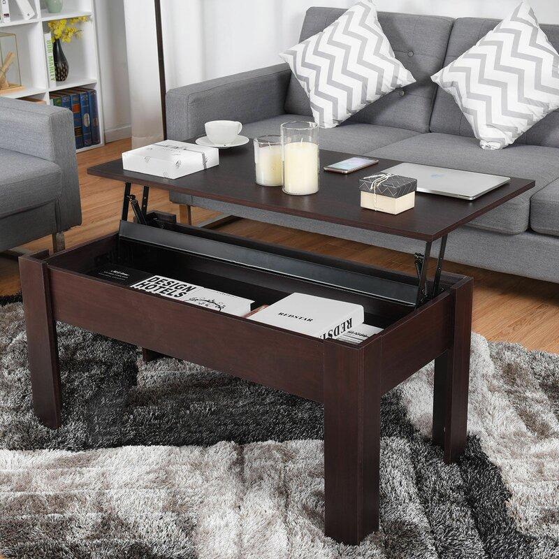 Selina Modern Lift Top Coffee Table