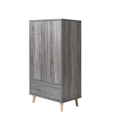 Trule Teen Bowles Armoire Color: Distressed Gray