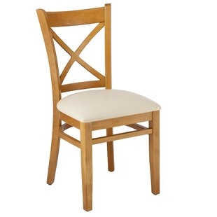 Hubbardston Cross Back Solid Wood Dining Chair (Set of 2)