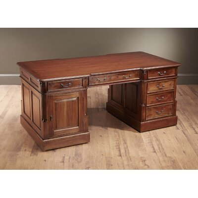 AA Importing Tierney Executive Desk  Color: Walnut