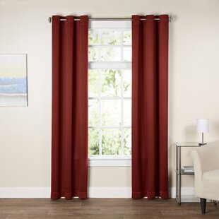 Red White Curtains Drapes Youll Love Wayfair