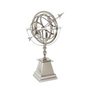 Aluminum Armillary Sphere Sculpture