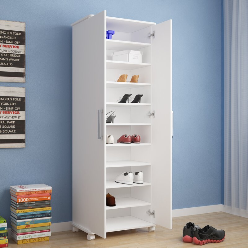 30 Pair Shoe Storage Cabinet