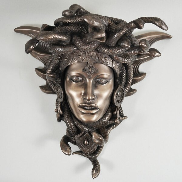 Castleton Home Medusa Guardian Wall D 233 Cor Snakes Goddess