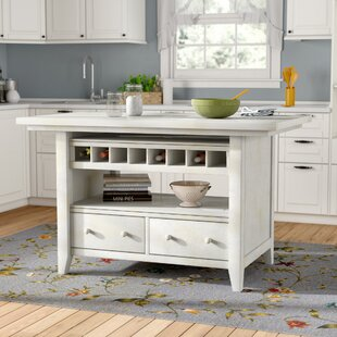 Reclaimed Wood Kitchen Island | Wayfair