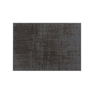 Canevas Abstract Charcoal Dark Grey Area Rug