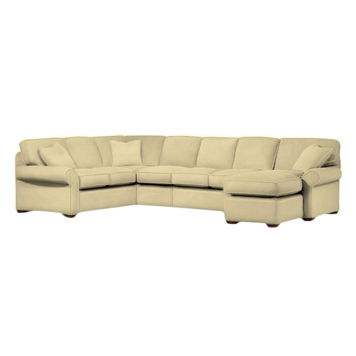 Klaussner Furniture Emerson Sectional & Reviews