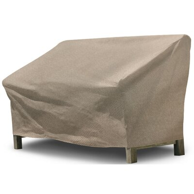 Freeport Park Aadhya Outdoor Loveseat Cover Size: 39 H x 57 W x 41 D