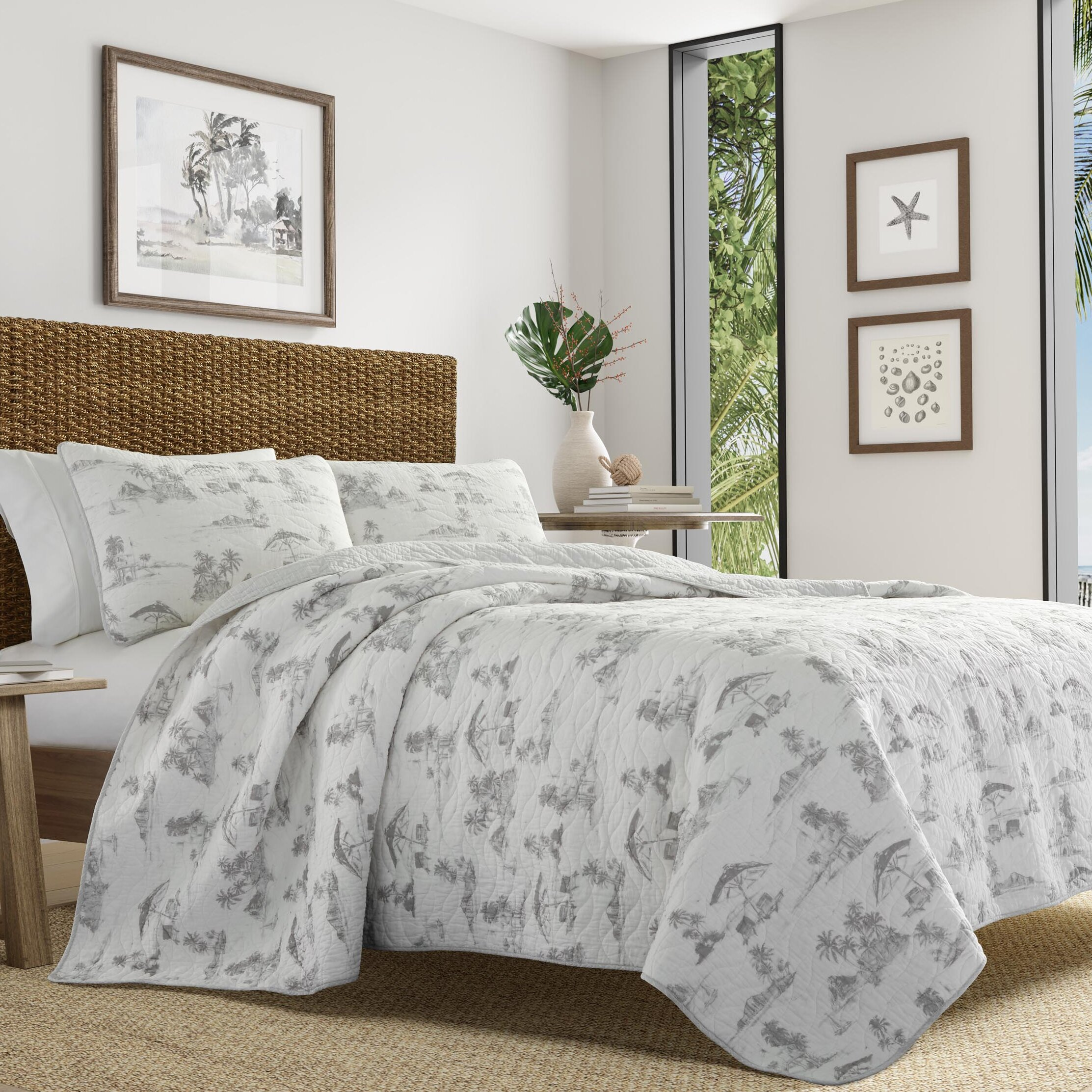 Tommy Bahama Home Brolly Beach Quilt Set By Tommy Bahama