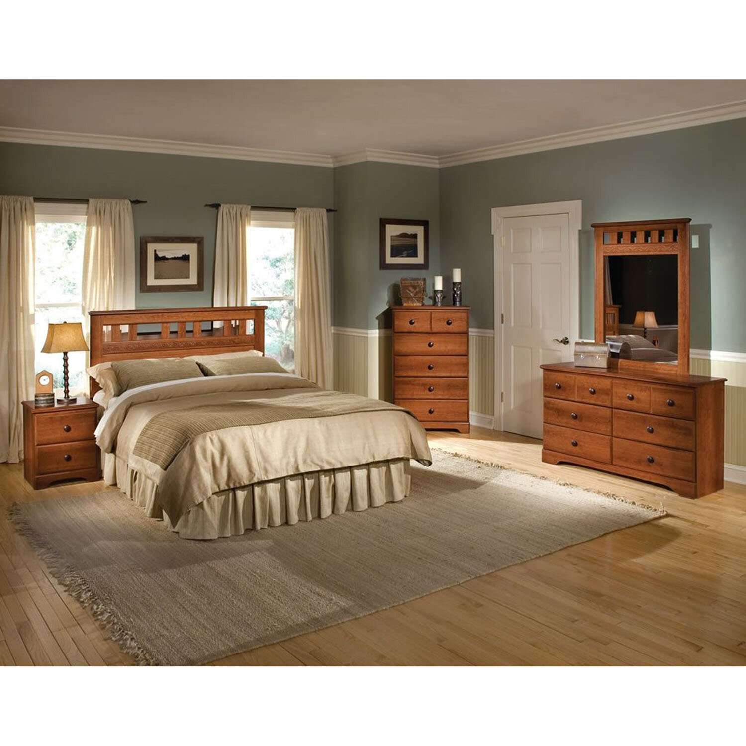 Merveilleux Alcott Hill Suffield Queen Panel 5 Piece Bedroom Set U0026 Reviews | Wayfair